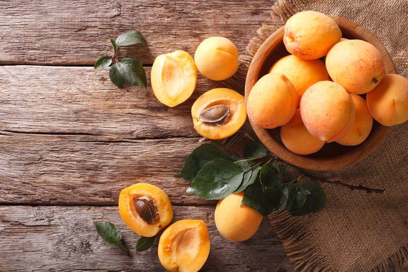 apricots Low carb foods