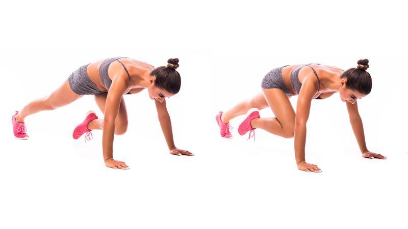 pushups  ab exercises