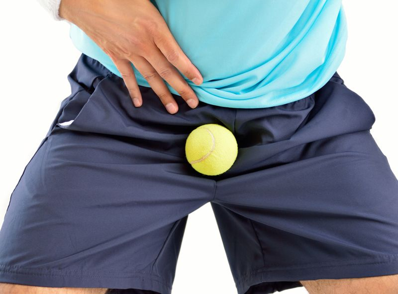 causes of ball pain