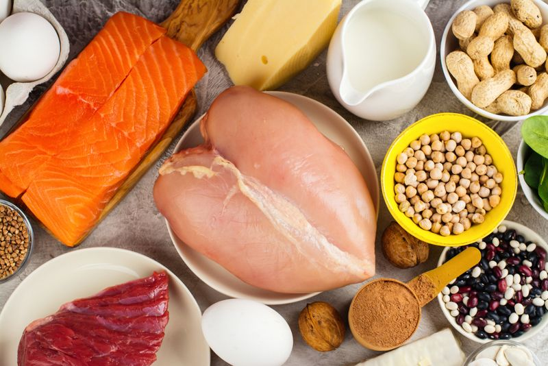 lean proteins heart attack