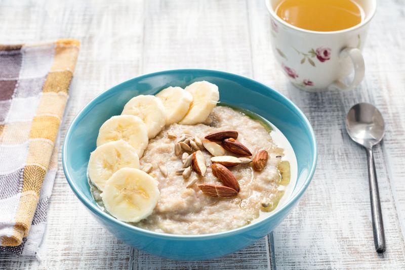 oatmeal low in sodium