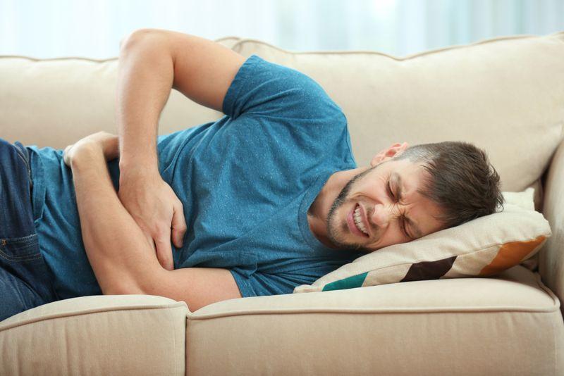 abdominal Ulcerative colitis