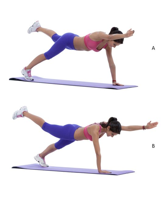 healthy plank exercises