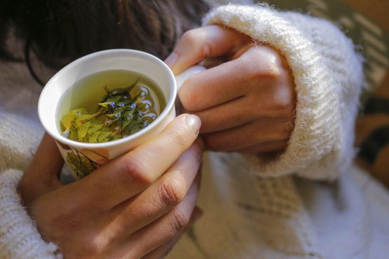 aging Herbal tea