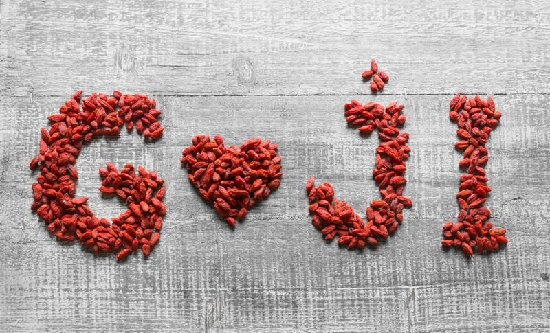 hydrated Goji Berries
