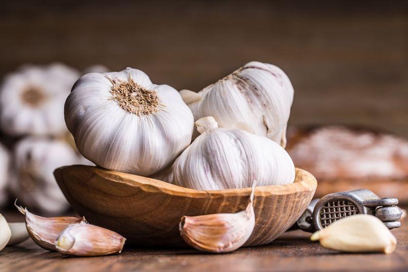 Appendicitis garlic