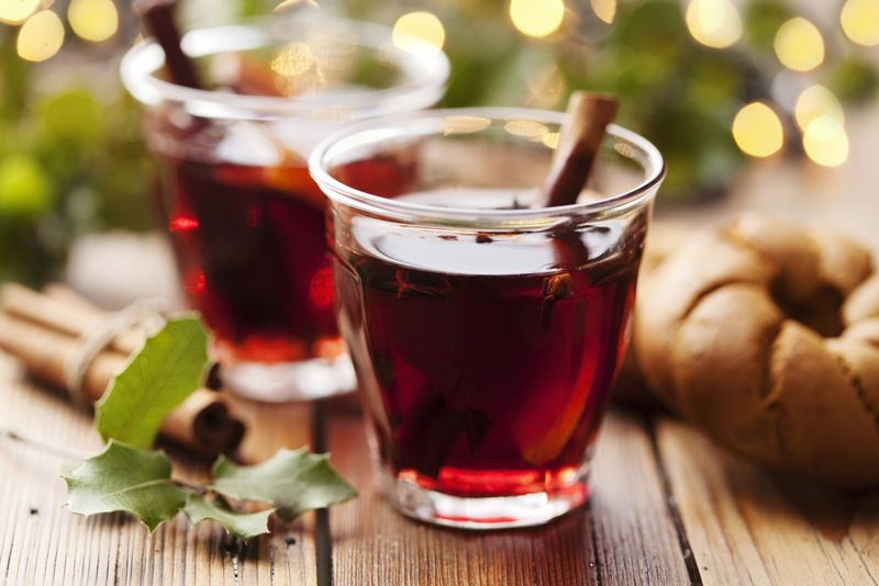 mulled wine thanksgiving meal