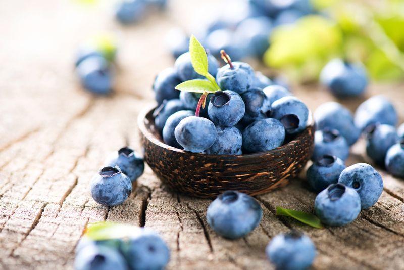 anti-inflammatory blueberries