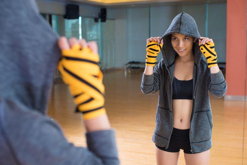 winter body weight training