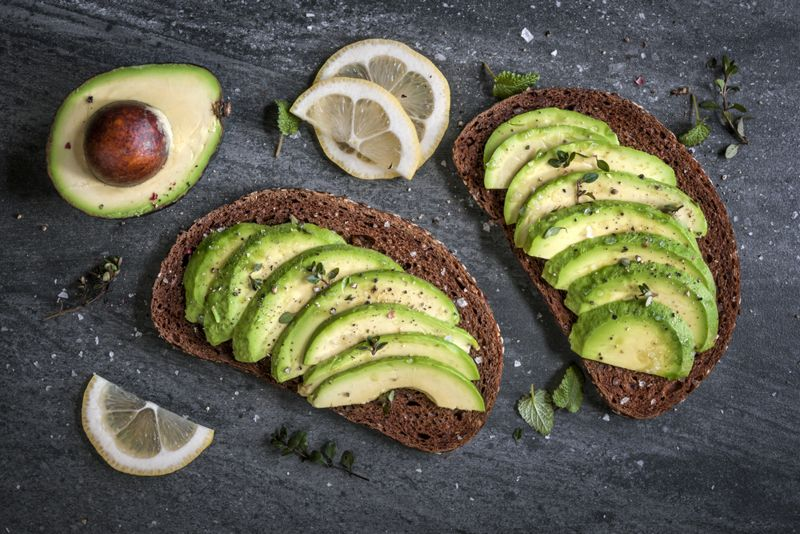 avocado fat