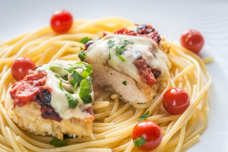 baked chicken pasta spiralizer