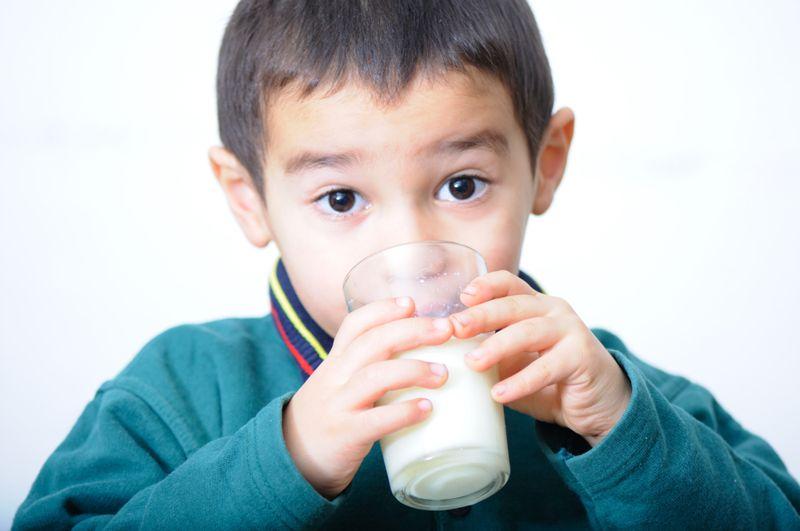 milk for bones and teeth