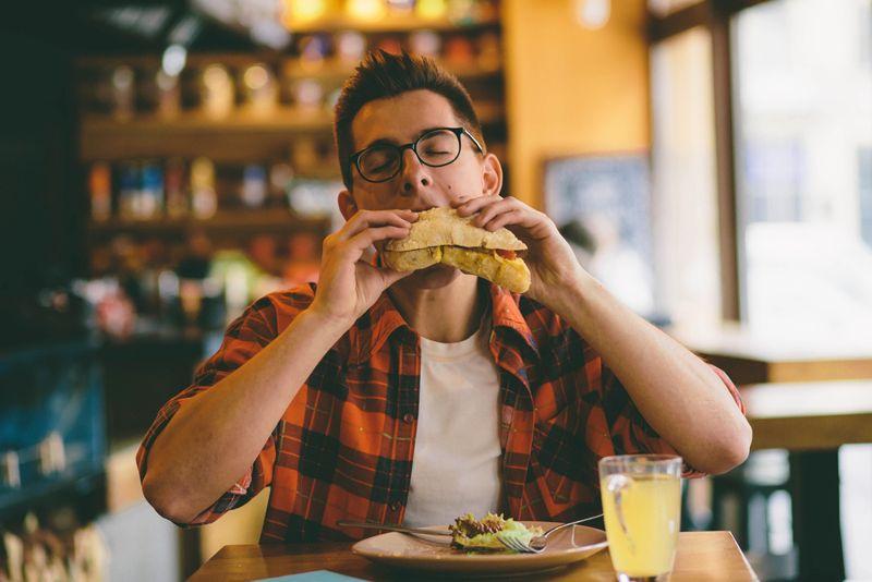 gain weight eat more often