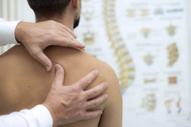 pins and needles dislocated shoulder
