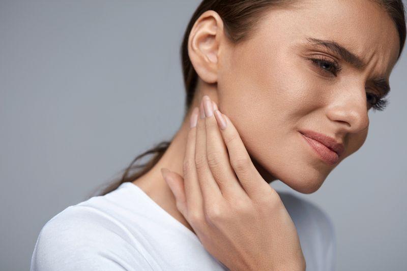 pain Salivary gland cancer