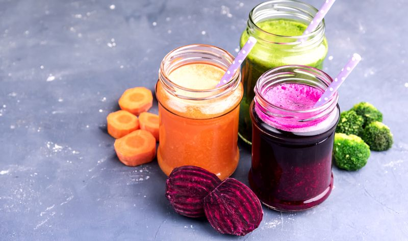 allergy season detox juices