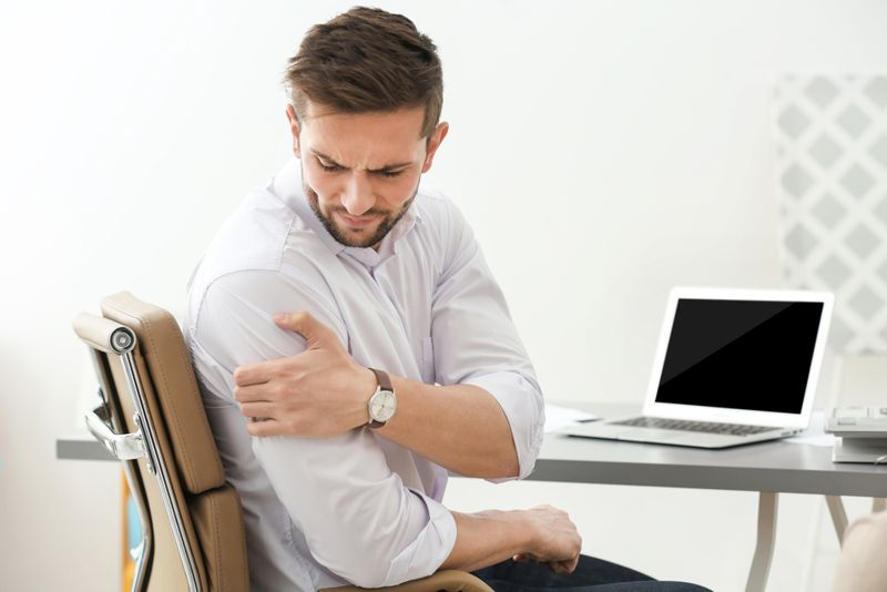spasms dislocated shoulder
