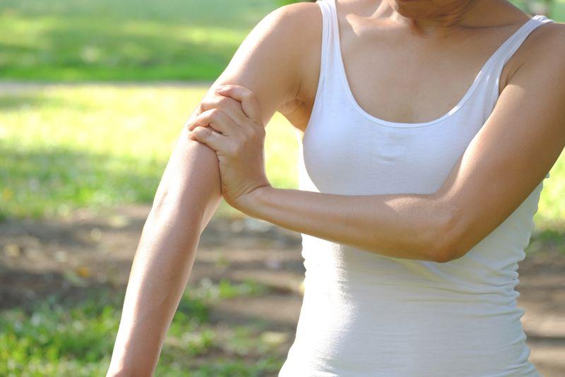 raise arm rotator cuff
