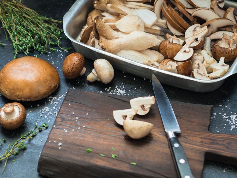 iron mushrooms