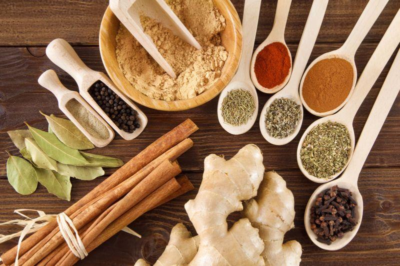 spices Ayurvedic diet
