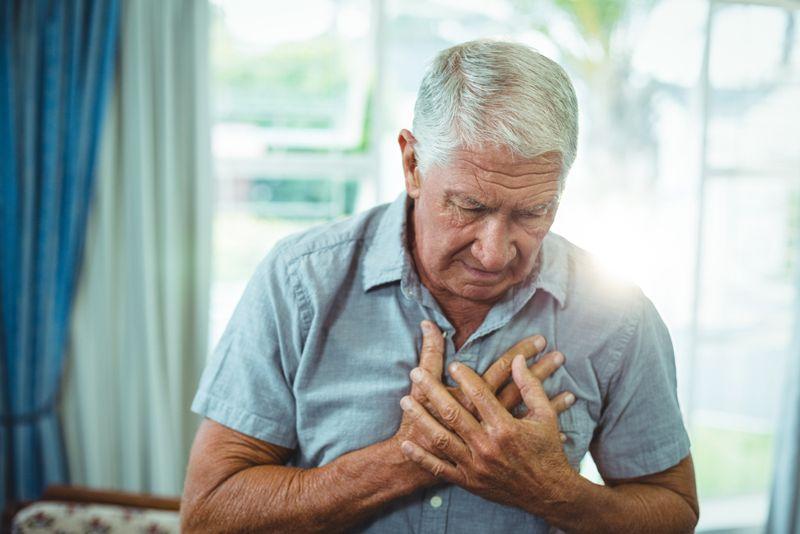 chest pain Vessel