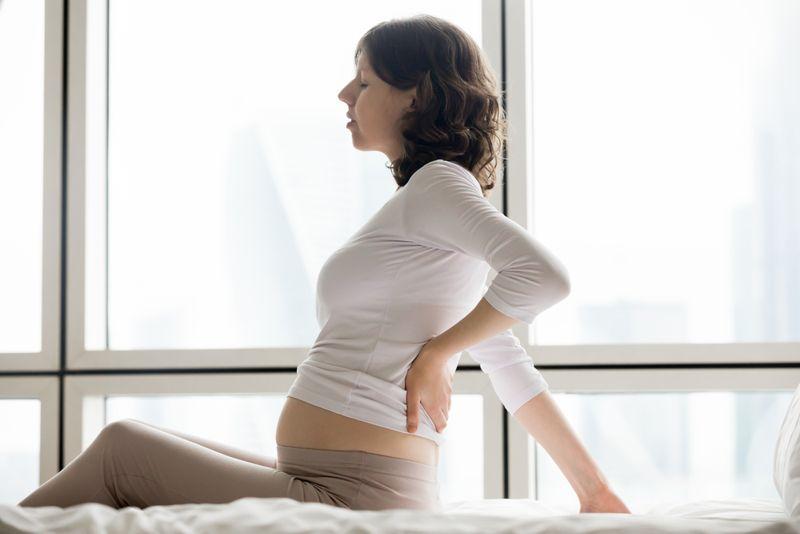 pregnancy stress back pain
