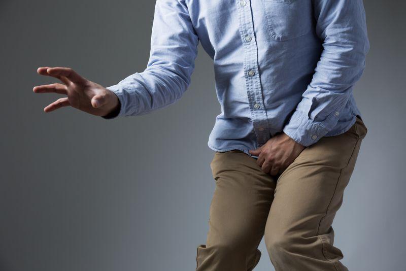 suffering bladder stones