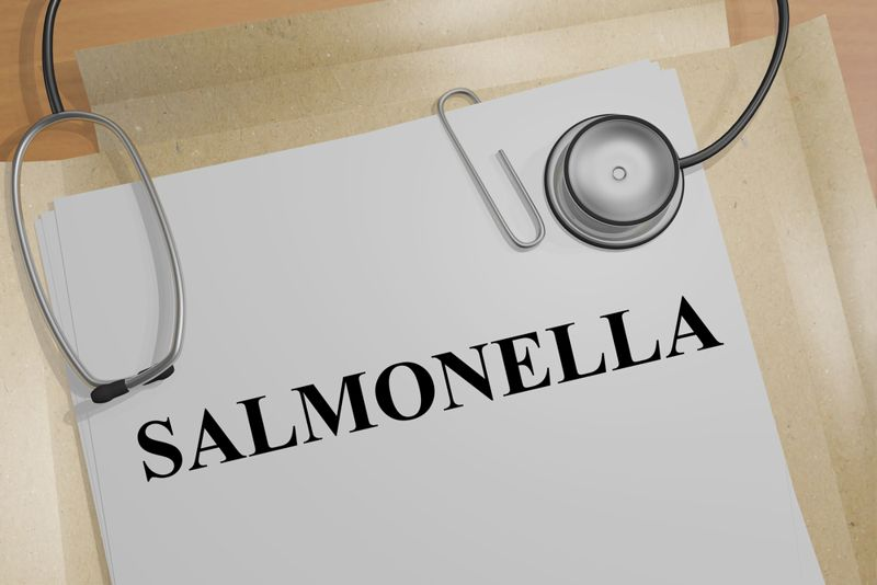 Salmonella infections