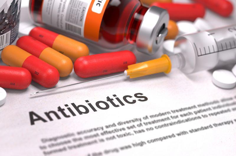 Take an oral antibiotic