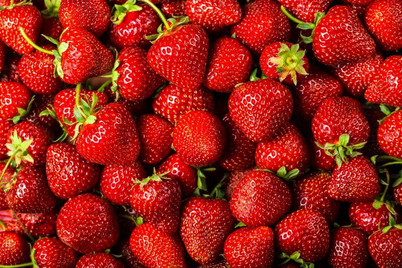 heart health strawberries