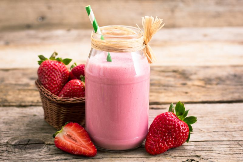hypertension strawberries