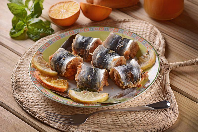 Amalfi Coast Stuffed Sardine Recipe