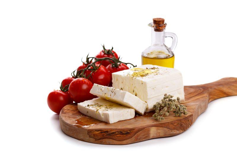 Feta Cheese and Tomato Salad