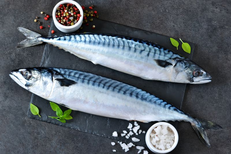 Get Your Skin to Glow with Mackerel