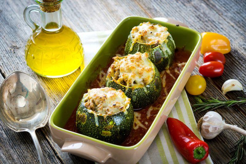 Prevents Diseases Zucchini