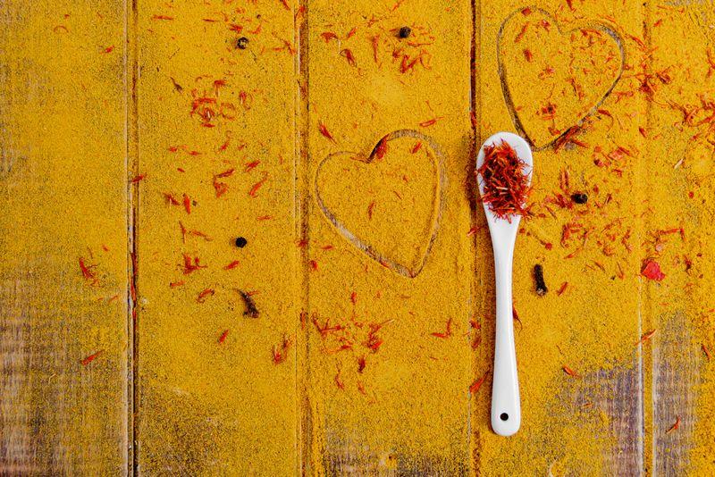 Reduce Risk of Heart Disease saffron spice