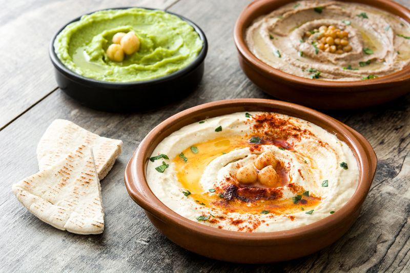 Reduces Allergic Reactions Hummus