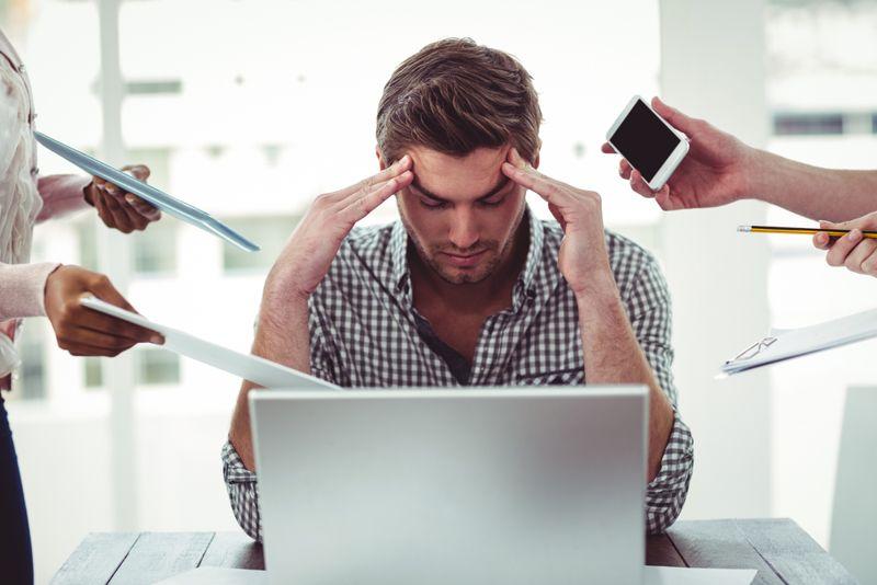 Stress - a cause of headaches