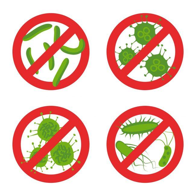 Antibacterial and Antifungal