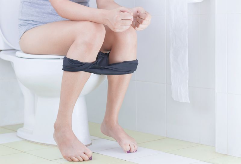 Cause: Straining During Bowel Movements