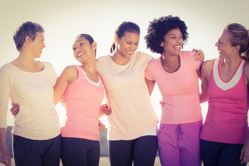 Lower risk of breast cancer