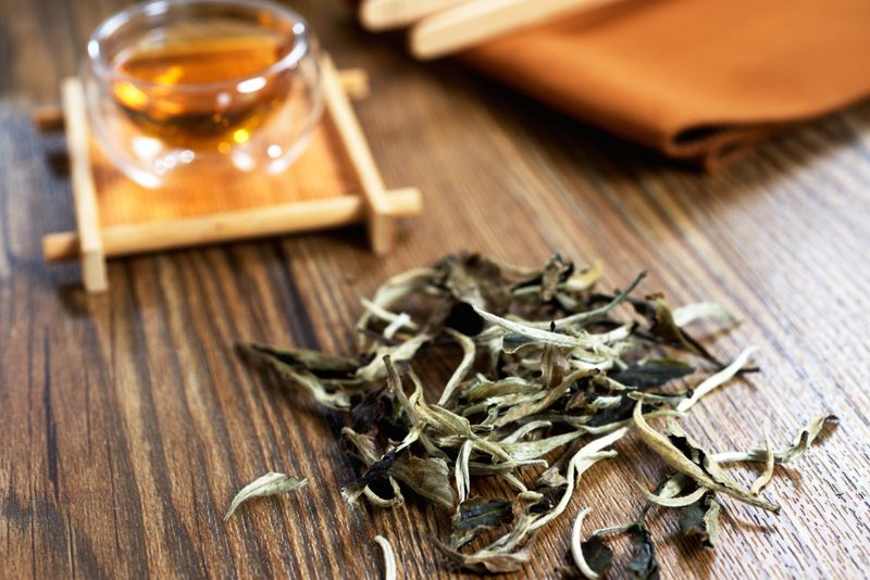 Relief for sufferers from digestion problems White tea