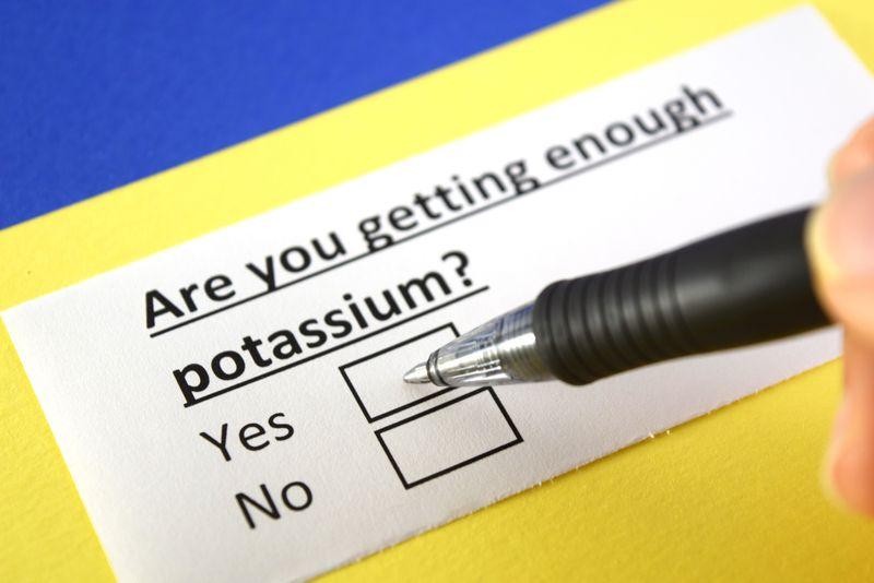 Supplies potassium for regulating the body's liquid balance