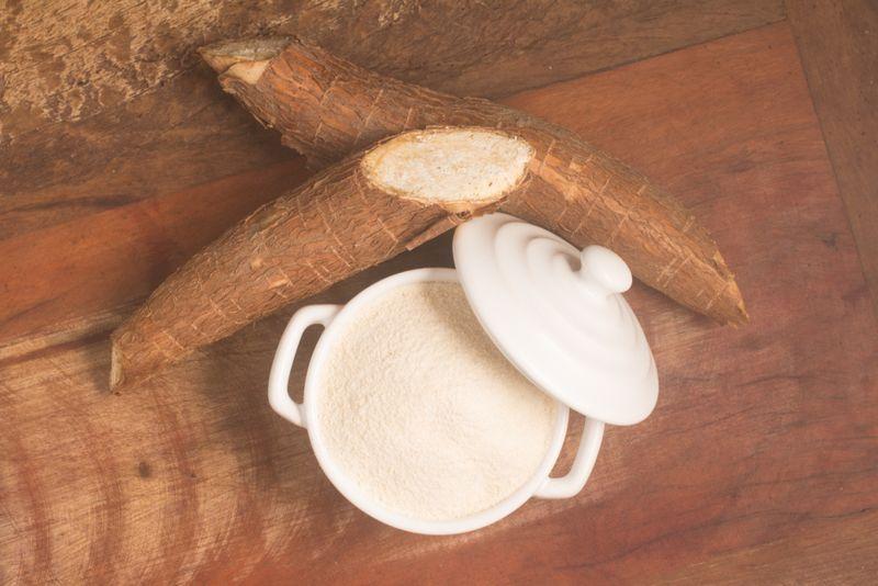 The cosmetic benefits of cassava flour