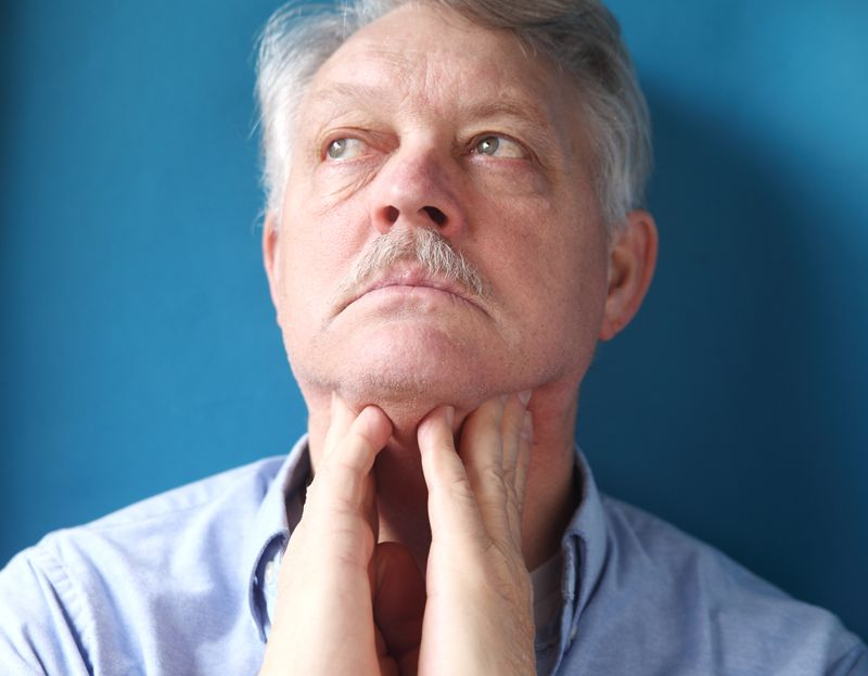 Visible Swelling in Your Neck