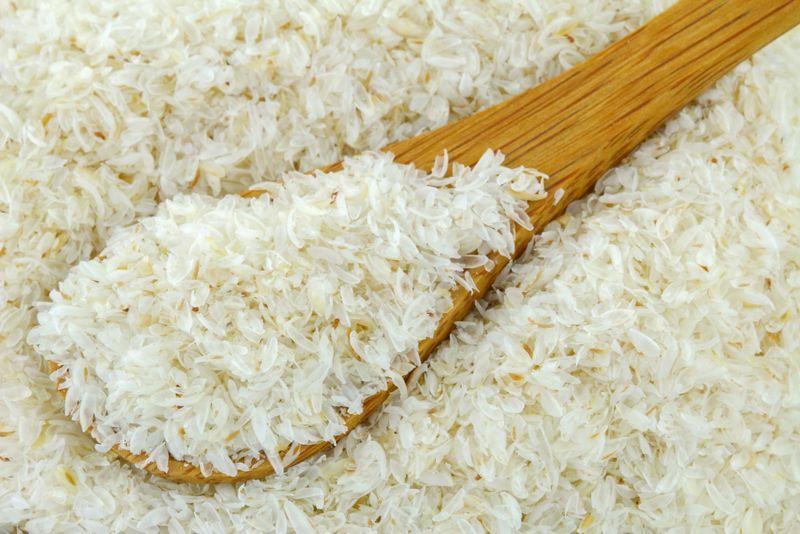 A food rich in fiber