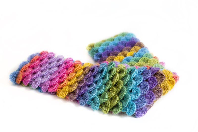 Basic Crochet Scarf