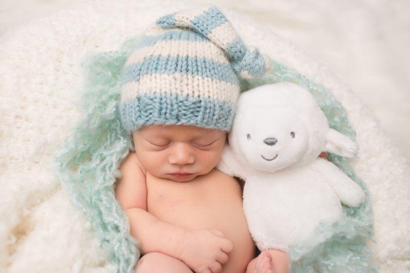 Bear Knit Lovey