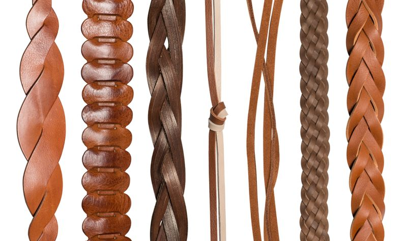 Leather Headband and Other Leather Crafts