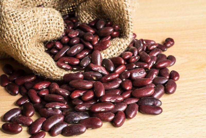 fiber adzuki beans